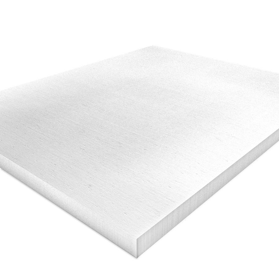 Kalziumsilikatplatten Innendaemmung Einzelplatte in weißgrau (nah). Maße 500mm x 625mm x 30mm