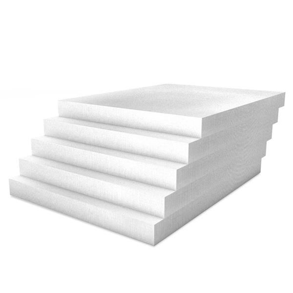 Kalziumsilikatplatten Innendaemmung Mehrpack in weißgrau. Maße 500mm x 625mm x 50mm