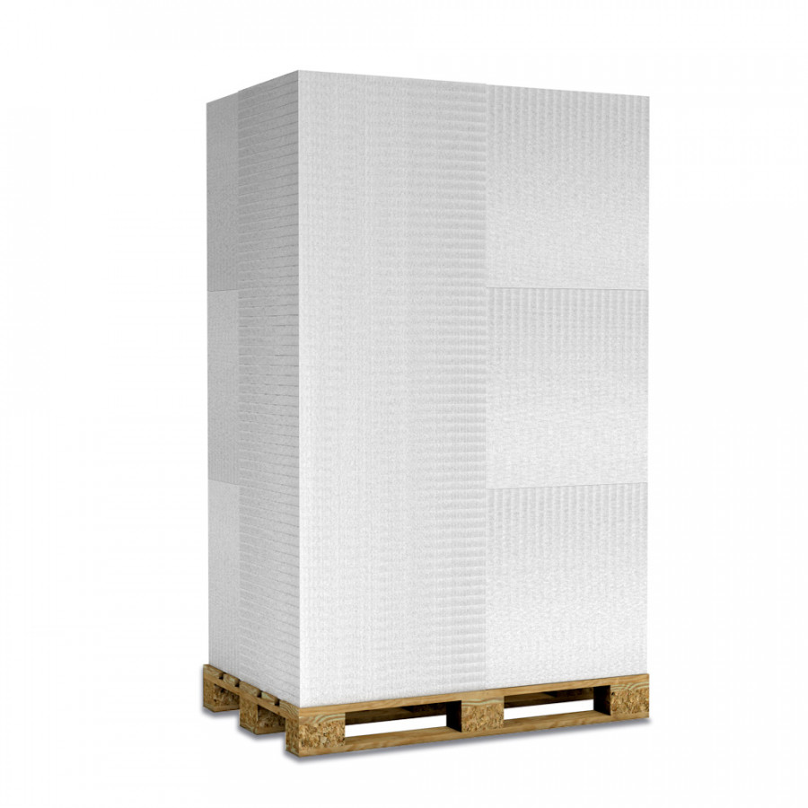 Kalziumsilikatplatten in 30mm als Palettenware (weissgrau 625mm x 500mm) für Großkunden und/oder Gewerbe