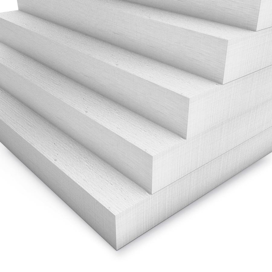 Kalziumsilikatplatten in 50mm als Mehrpack (weiss 1000mm x 500mm - Nahaufnahme)