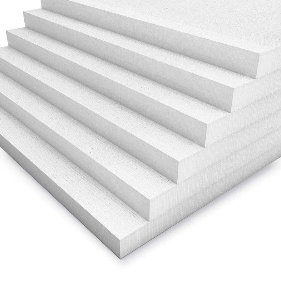 Kalziumsilikatplatten in 30mm als Mehrpack (weiss 1000mm x 500mm - Nahaufnahme)